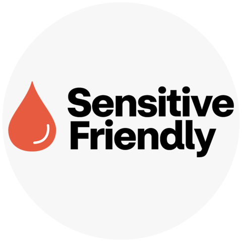 logo for Sensitive Friendly skin care products