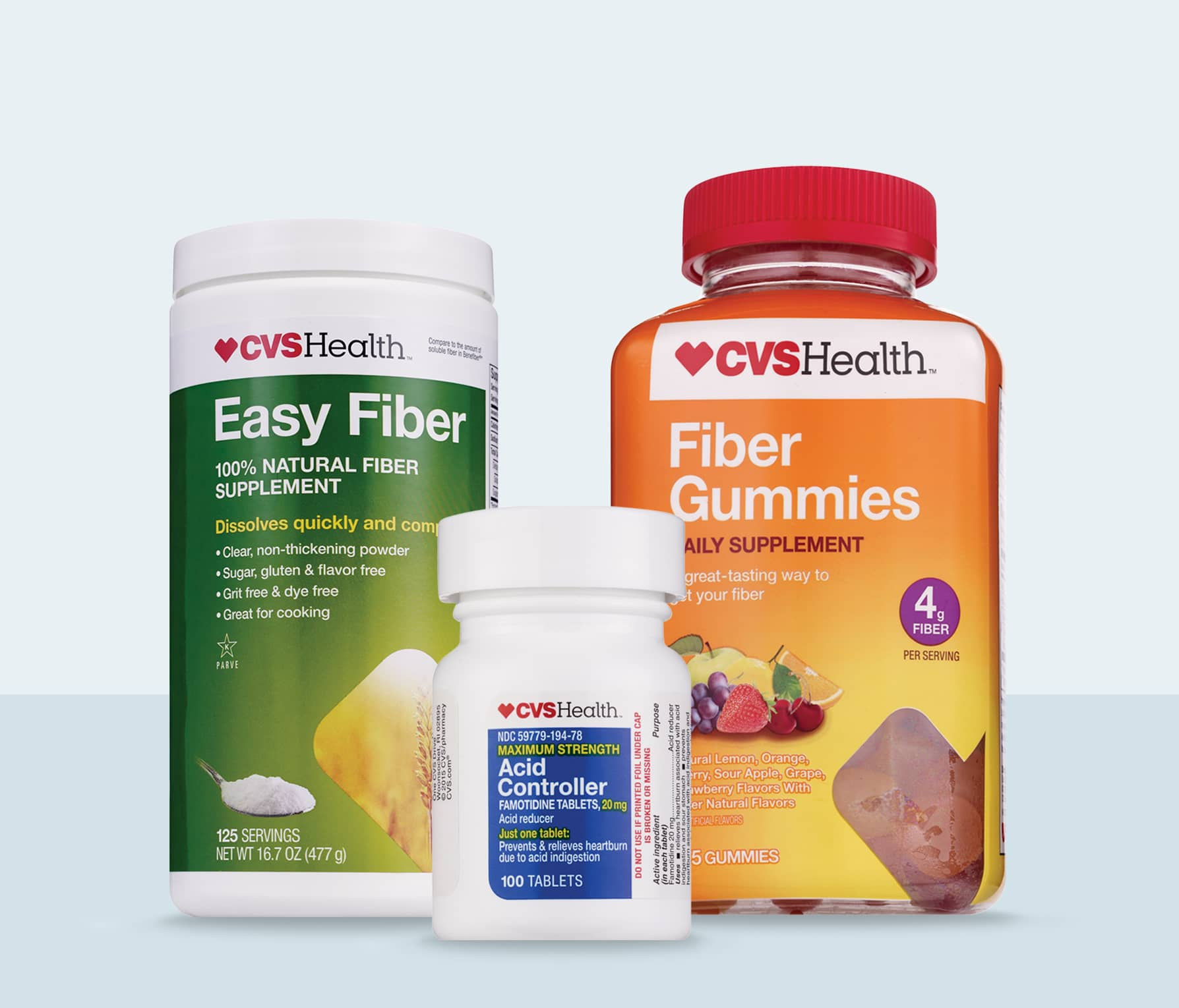 image of CVS brand digestive health products