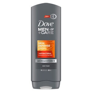 Dove Men+Care Skin Defense Body Wash For Smooth and Hydrated Skin Care, 18 OZ