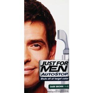 Just for Men AutoStop Hair Color, Dark Brown A-45