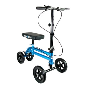 KneeRover Steerable Economy Knee Scooter with Dual Braking System