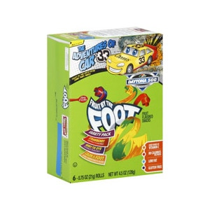 Fruit By The Foot Fruit Flavored Snacks Variety Pack