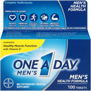 One A Day Men's Health Multivitamin Tablets