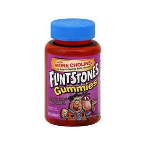 Flintstones Complete Children's Multivitamin Supplement Gummies