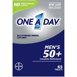 One A Day Men�s 50+ Healthy Advantage Multivitamin, Supplement with Vitamins A, C, E, B6, B12, Calcium and Vitamin D, 65 count