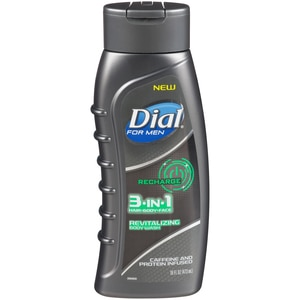Dial for men Recharge 3 in 1 Revitalizing Body Wash