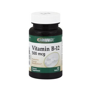 Radiance Vitamin B-12 Tablets 500 mcg