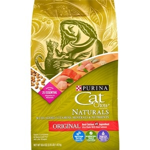 Cat Chow Cat Food Plus Vitamins & Minerals