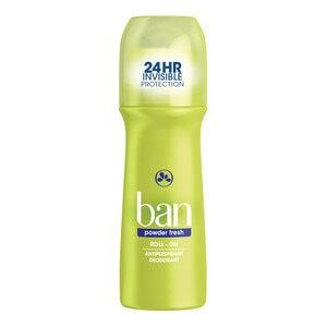 Ban Roll-On Anti-Perspirant & Deodorant Powder Fresh