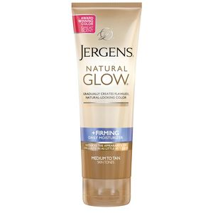 Jergens Natural Glow +Firming Daily Moisturizer, Medium to Tan Skin Tones