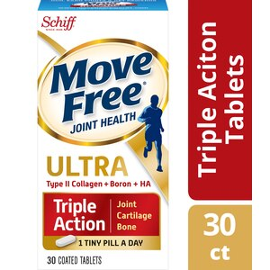 Move Free Ultra UC-II Collagen and Hyaluronic Acid Joint Supplement, 30CT