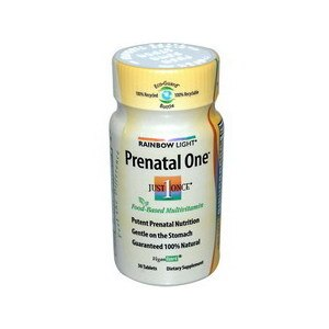 Rainbow Light Prenatal One Multivitamin Tablets