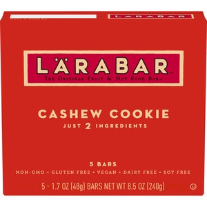 Larabar Cashew Cookie Bars, 5 CT