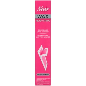 Nair Hair Remover Wax Ready Strips 40ct With Photos Prices Reviews Cvs Pharmacy