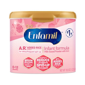 Enfamil A.R Powder Tub, 21.5 OZ