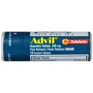 Advil Pain Reliever/Fever Reducer Ibuprofen Tablets 200mg