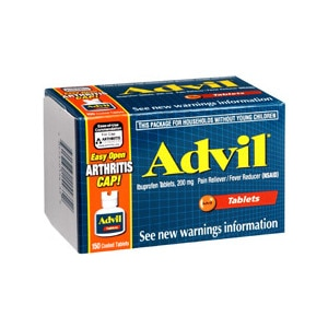 Advil Tablets Easy Open Arthritis Cap