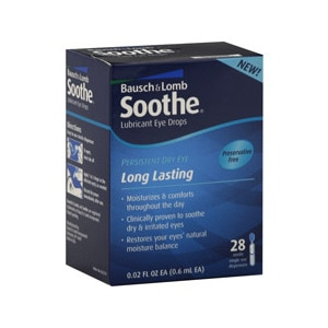 Bausch & Lomb Soothe Lubricant Eye Drops Single-Use Dispensers