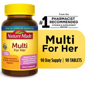 Nature Made Multi For Her - Tabletas