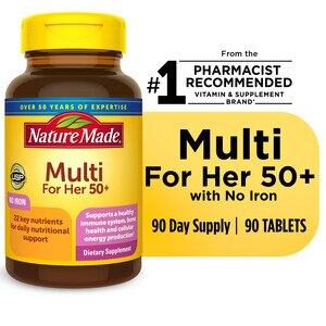 Nature Made Multi For Her 50+ Tablets