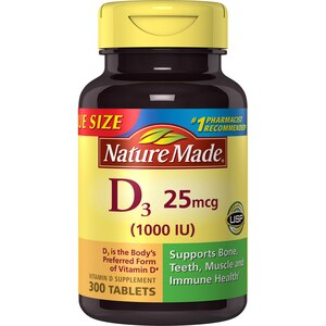 Nature Made Vitamin D 1000 IU Tablets
