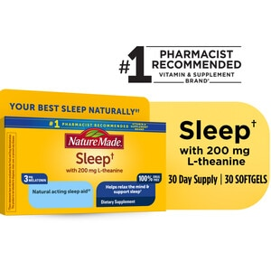 Nature Made Sleep Natural Sleep Aid Liquid Softgels