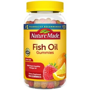 Nature Made Fish Oil Adult Gummies Value Size