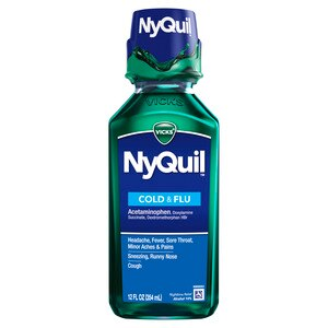 Vicks Nyquil Cold & Flu Liquid