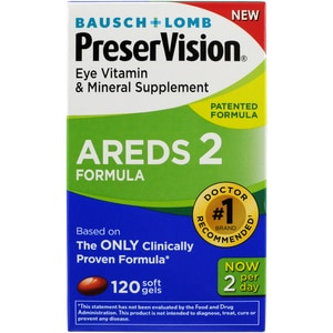 PreserVision Eye Vitamin & Mineral Supplement AREDS 2 Formula