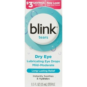 Blink Tears Lubricating Eye Drops for Mild-Moderate Dry Eye