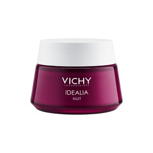 Vichy Idealia Night Recovery Face Cream for Radiant Skin