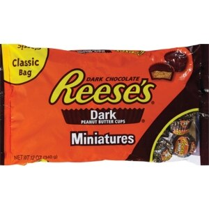 Reese's Miniatures Dark Chocolate Peanut Butter Cups