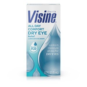 Visine All Day Comfort Dry Eye Relief Eye Drops, 0.5 OZ