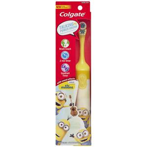 Colgate Kids Minions Talking Battery Powered Toothbrush
