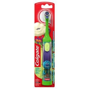 Colgate Kids Battery Powered Toothbrush, Trolls (Colors Vary)