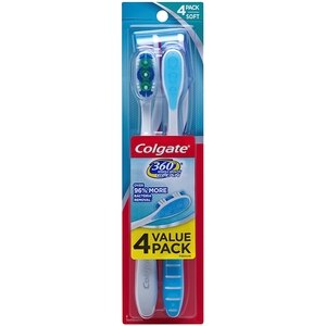 Colgate 360 Toothbrushes Soft Full Head Value Pack