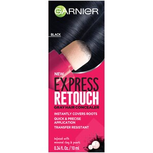 Garnier Express Retouch Gray Hair Concealer, Instant Gray Coverage