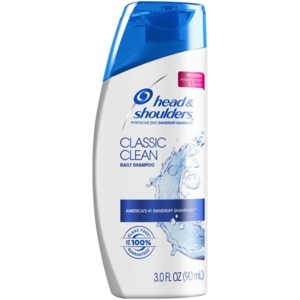 Head & Shoulders Classic Clean Anti-Dandruff Shampoo, 3 OZ