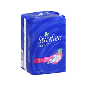 Stayfree Ultra Thin Pads Super Long With Wings
