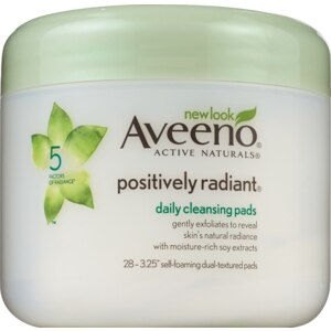 Aveeno® Active Naturals Positively Radiant Daily Cleansing Pads