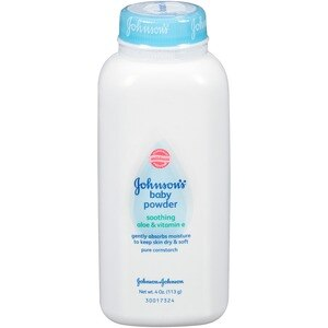 Johnson's Pure Cornstarch Baby Powder