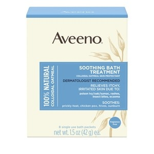 Aveeno Soothing Bath Treatment, 8CT