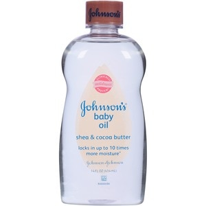 Johnson's Baby Oil Shea & Cocoa Butter Mildness
