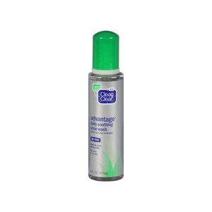 Clean & Clear Advantage Daily Soothing Acne Wash, Oil-Free
