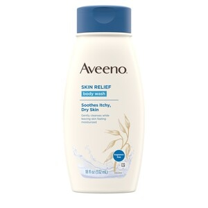 Aveeno Skin Relief Body Wash For Itchy, Dry Skin, 12 Oz