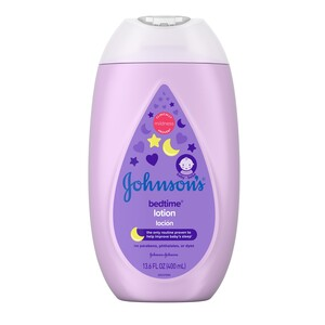 Johnson's Bedtime Baby Lotion with Natural Calm Essences, 13.6 OZ
