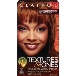 Clairol Textures & Tones Permanent Haircolor 5g Light Golden Brown