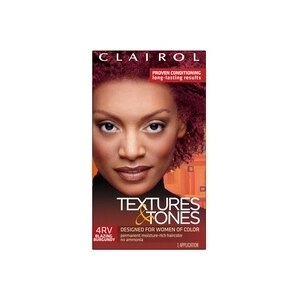 Clairol Textures & Tones Permanent Haircolor 4rv Blazing Burgundy