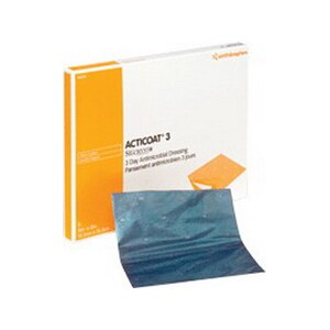 Smith And Nephew Acticoat Antimicrobial Barrier Dressing 2 x 2 in., 5CT