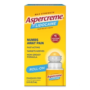 Aspercreme Lidocaine No Mess, 2.5 OZ
